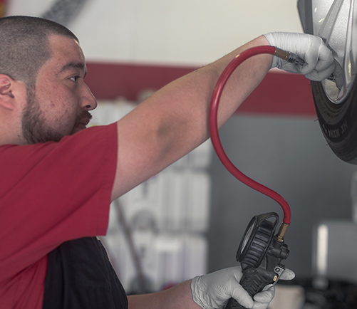 Tire Shop in Lansing: Certified Tire Repair Services | Auto-Lab - content-tire-filling